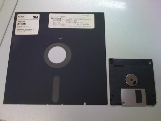 """8""""-Diskette"""